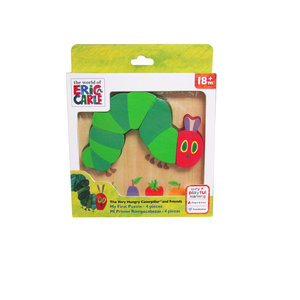 Very Hungry Caterpillar 4-piece Wood Puzzle