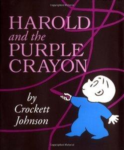 Harold & the Purple Crayon - Hardcover