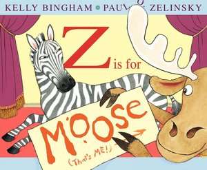 Zelinsky Book Plate & Z is for Moose - Hardcover