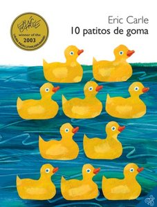 10 Little Rubber Ducks - Spanish Hardcover Edition