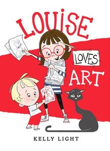 Louise Loves Art - Autographed Hardcover