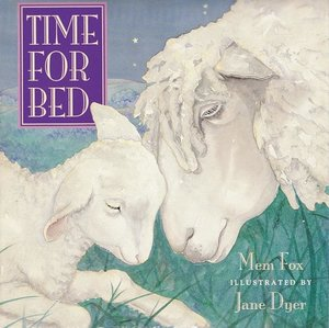 Time For Bed Lap-Sized Board Book