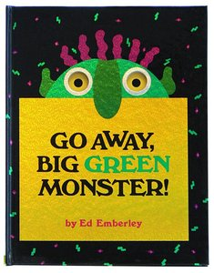 Emberley Book Plate & Go Away Big Green Monster! - Hardcover