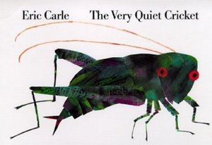 The Very Quiet Cricket - Board Book