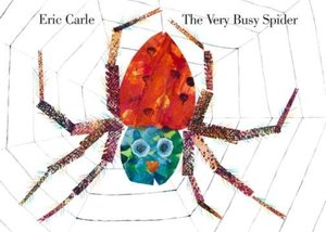 The Very Busy Spider - Board Book