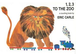 1, 2, 3 To The Zoo - Board Book