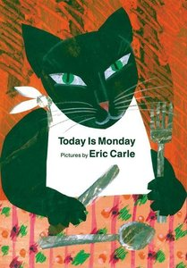 Today is Monday - Board Book