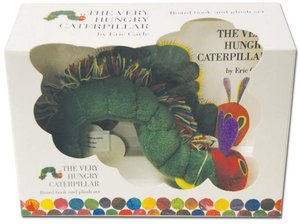 The Very Hungry Caterpillar - Board Book & Plush
