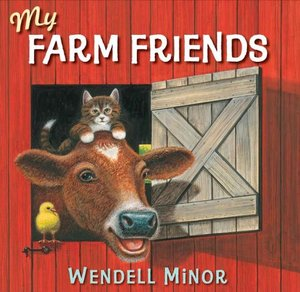 Minor Book Plate & My Farm Friends - Hardcover