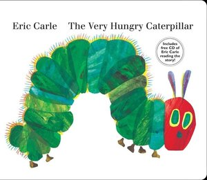 The Very Hungry Caterpillar - Large Board Book & Audio CD Edition