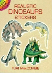 Realistic Dinosaur Stickers