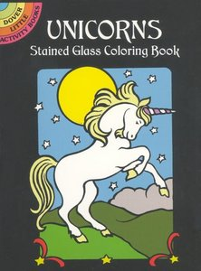 Unicorns Little Stained Glass
