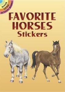 Horse Favorite Stickers