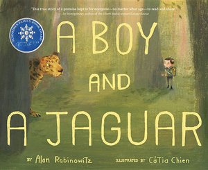 Boy and a Jaguar - To Be Autogrpahed 2/10
