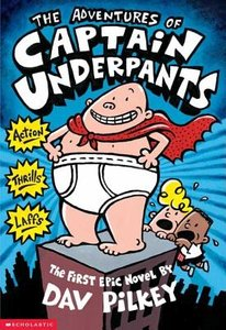 Captain Underpants #1 (Paperback)- To Be Autographed 9/23