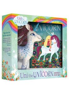 Uni the Unicorn Plush Toy & Book