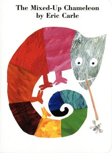 The Mixed Up Chameleon - Board Book