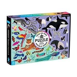 Animal Kingdom 2-in-1 Puzzle
