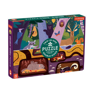 Forest Above & Below Puzzle 100 pc