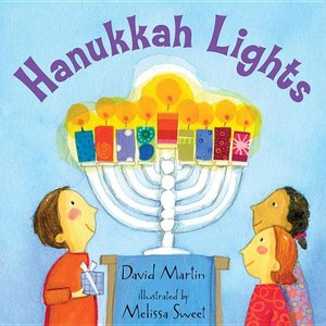 Hanukkah Lights - Board Book