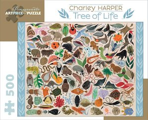 Charley Harper Tree of Life Puzzle 500 pc