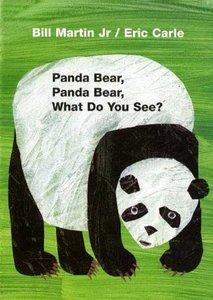 Panda Bear, Panda Bear, What Do You See? - Board Book