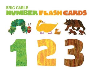 Eric Carle Number Flash Cards