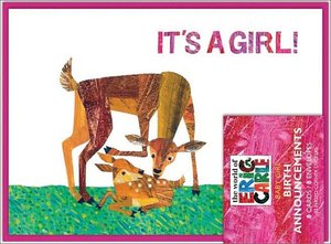 Eric Carle It's a Girl Birth Announcements