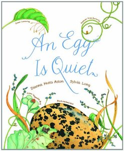 An Egg is Quiet - Softcover