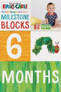 Very Hungry Caterpillar Milestone Blocks