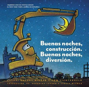 Goodnight, Goodnight Construction Site (Spanish)