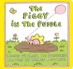The Piggy in the Puddle (Board Book)