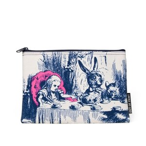 Alice in Wonderland Canvas Pouch