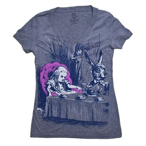 Alice in Wonderland Ladies T-Shirt