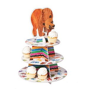 Brown Bear Cupcake Holder