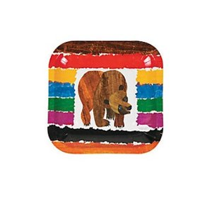 Brown Bear Dessert Plates