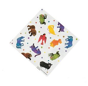 Brown Bear Large Napkins (Animals)