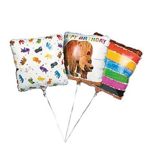 Brown Bear Mylar Balloons