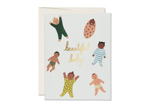 Beautiful Baby Notecard