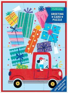 Birthday Truck Card + Puzzle