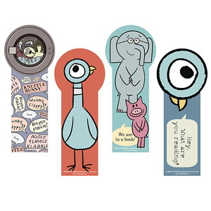 Mo Willems Die-Cut Bookmark