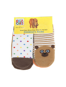Brown Bear Socks Youth (4 pk)