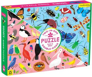 Bugs & Birds Double Sided 100 pc Puzzle