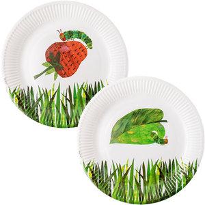 Caterpillar Paper Plates