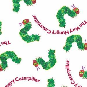 Caterpillars with Text Fabric