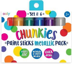 Chunkies Paint Sticks Metallic (Set of 6)