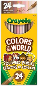 Pencils-Crayola Colors of the World Skin Tone