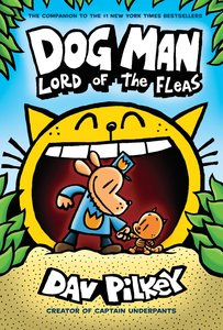 Dog Man #5 Lord of the Fleas - Autographed