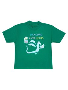 Dragons Love Books Youth T-Shirt