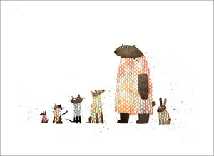 Jon Klassen Print - Animal Sweaters
